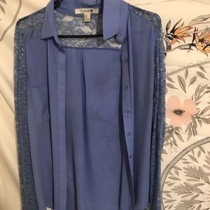Forever 21 long sleeve blouse Size M